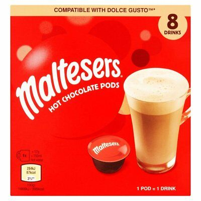 Maltesers Dolce Gusto Compatible Pods 8 Drinks