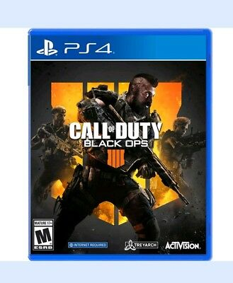 Call of Duty: Black Ops 4 PS4 (Open Box)