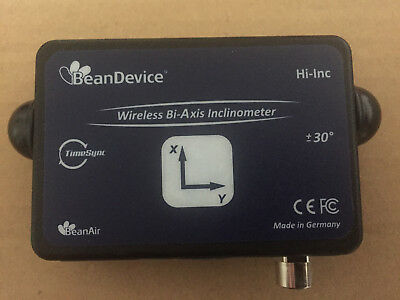 Wireless inclinometer with built-in datalogger  range: ±30°