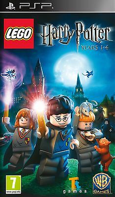 NEW SEALED LEGO Harry Potter: Episodes 1-4 KIDS GAME Sony PSP - European Version