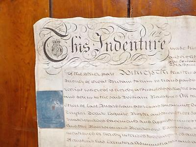 1783 East Markham Nottinghamshire Georgian Vellum Deed Document Indenture