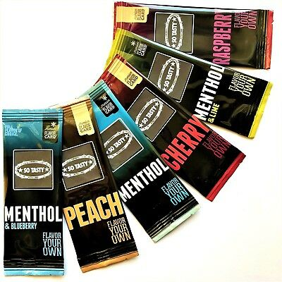 6 x PREMIUM Aroma for iQOS HEETS - Menthol & Fruity Flavor MIX // XL BOX// WOW !