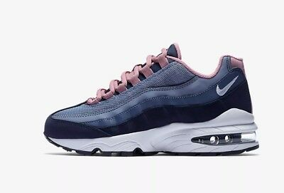 premium selection a9802 dbd2d Nike Air Max 95 Le Girls Womens Trainers Shoes Sneakers Uk 4,5 Eur 37