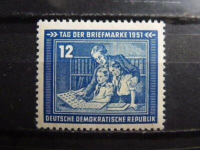 East Germany, DDR, 1951, 295, **MNH, signed