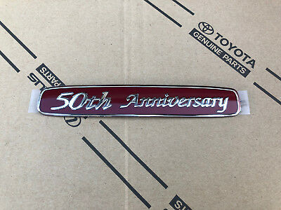 Toyota Land Cruiser 50th Anniversary hintere Kotflügel Logo Emblem Quarter Panel