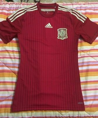 Maglia calcio Home Adidas Spagna Spain NT Player Issue 2014 Football Jersey