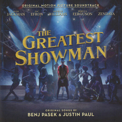 The Greatest Showman Original Motion Picture Soundtrack Audio Album