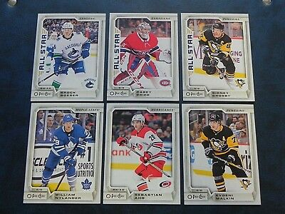 2018-19 18/19 O-Pee-Chee OPC Base Cards #1 - #200 Finish Your Set You Pick