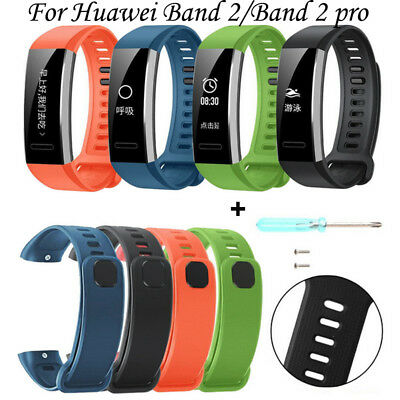 Silicone Replacement Band Wrist Strap For Huawei Band 2/Band 2 Pro Watch Nice