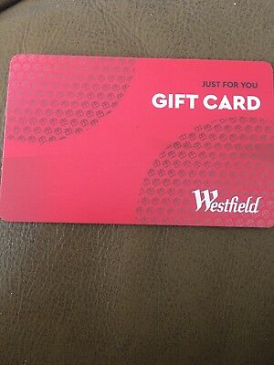 New Westfield Gift Card $50