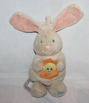 Kids Ii Rae Bunny Rabbit Musical Plush Stuffed Toy Plays You Are My