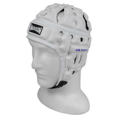 Air Flo Headguard in White from Madison for Rugby League and Union