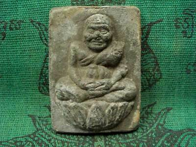 Phra LP Tuad Meditation Power Magic Protect Talisman Chakra Thai Buddha Amulet