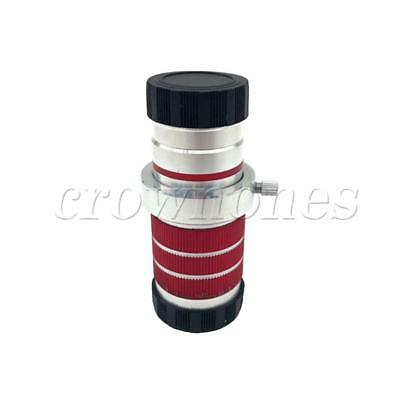 10x18 High Power Dual Focus HD Monocular Telescope BAK4 Prism for Traveling Red