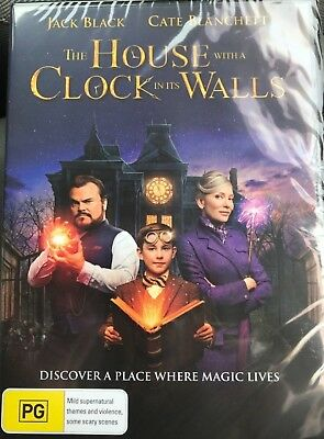 The House With A Clock In It's Walls 2018 Genuine Release R4 Dvd New Sealed Its
