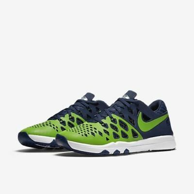 separation shoes 7dcbb 89086 NEW Nike Train Speed 4 AMP NFL Shoe 848587 307 MANY SIZES Seattle Seahawks