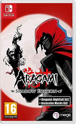 Aragami Shadow Edition (Nintendo Switch) In Stock Now Brand New & Sealed UK PAL