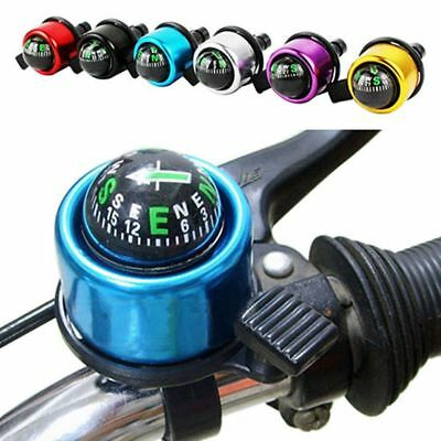 Warning Aluminum Alloy Bicycle Bell Compass Horn Ring-down Bikes Alarm Ring