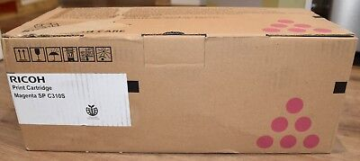 New Genuine Ricoh Magenta 406354 Toner Cartridge For SP C310S