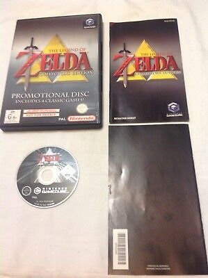 Gamecube The Legend Of Zelda Collector's Edition Game