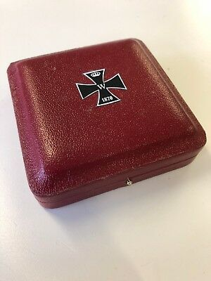Imperial German/Germany 1870 Iron Cross 2nd Class case/box Franco Prussian War