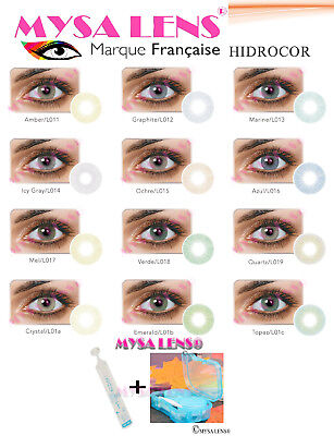 Colored Contact Lenses Kontaktlinsen Hidrocor 1 Year MYSA LENS