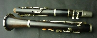 Vintage CABART A Paris  wooden Made in France  Bb clarinet