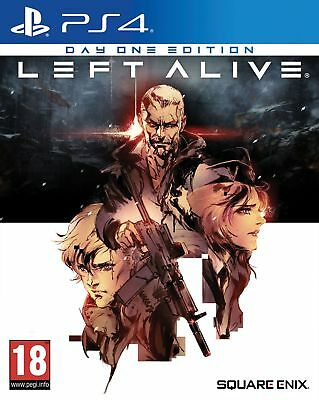 Left Alive Day One Edition (PS4) IN STOCK NOW Brand New & Sealed UK PAL