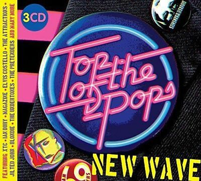 Top Of The Pops New Wave 3 CD Set Brand New & Sealed