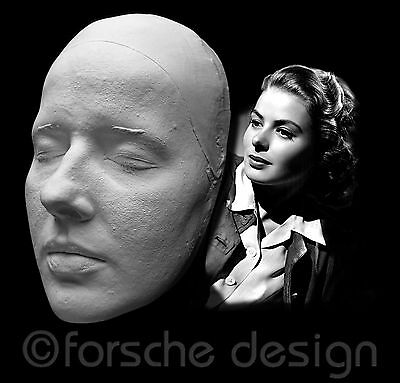 Ingrid Bergman Life Mask Casablanca Gaslight Joan of Arc Notorious Spellbound