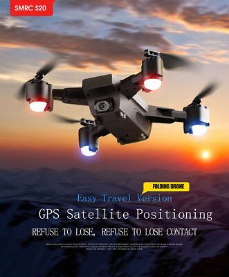1080P 120°Wide-Angle 5G GPS Aititude Hold RC Helicopter Foldable Selfie Drone @