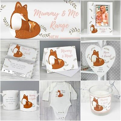 *Mummy and Me* Personalised Card & Gifts - Mothers Day, New Baby, Birthday...