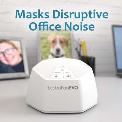 Lectrofan Evo - White Noise Machine - White, Pink, Brown Noise and Ocean Sounds