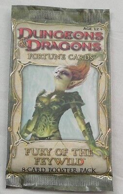 Dungeons & Dragons 4th Ed: Fury of the Feywild Fortune Cards Sealed Booster