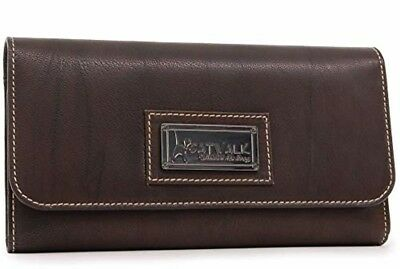 Catwalk Collection - Ladies Luxury Matinee Zip Purse with Gift Box - Quality Rea