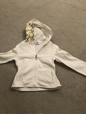 Versace Girls Age 4 Ivory & Gold Tracksuit
