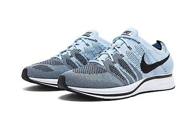 487677c0b735d NIKE FLYKNIT TRAINER Mens Running Shoes Cirrus Blue Black White ...