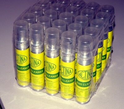 Anti-Static Lens cleaner. 25 x 25ml spray. CLEARANCE PRICE.