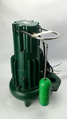 ZOELLER H284-D Waste-Mate 1 HP Single Phase Submersible Sewage Pump