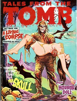Tales From The Tomb 32 Issue Collection On DVD-ROM Disc Free Shipping Adobe PDF