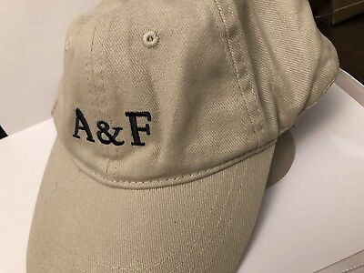 Brand New 100% Genuine Mens Abercrombie   Fitch Fitted Cap A f A And ... c5345965061