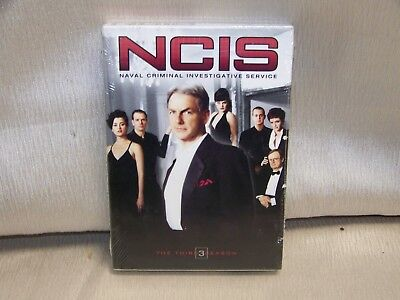 NCIS The Complete Third Season (DVD, 2007, 6-Disc Set) Brand New Factory Sealed