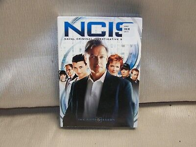 NCIS The Complete Fifth Season (DVD, 2008, Multi-Disc Set) Brand New Sealed