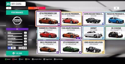 Forza Horizon 4 All Rare Cars - Pre Order Cars And Every Other Rare Car