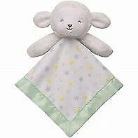 NWT Carters Child Of Mine White Mint Green Star Lamb Sheep Baby Security Blanket