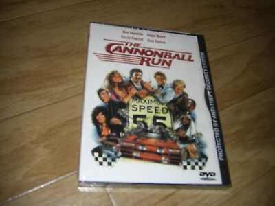 The Cannonball Run (DVD, 2001)**Original Snap Case**BRAND NEW**SEALED**