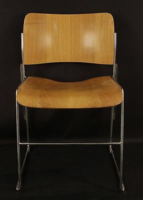 Vintage 40/4 David Rowland Wooden Classic Office Waiting Room Chair