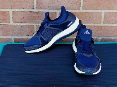 30032ade0fe4d Womens adidas Running Sneakers Pure Boost X TR Fitness Shoes Dark Blue Size  7