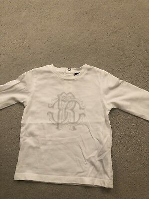Roberto Cavalli Unisex Long Sleeved Top Age 18 Months