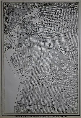 24x42 1924 Pearl River New York Vintage Old Panoramic NY City Map